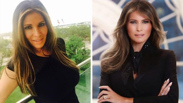 Madre hispana gasta $50,000 para parecerse a Melania Trump