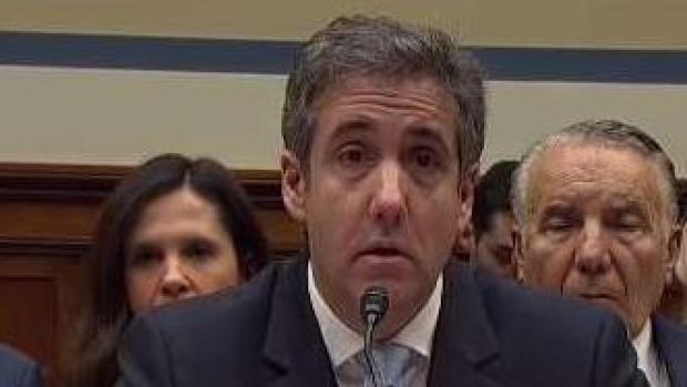 """Cohen: """"Trump es un estafador"""""""