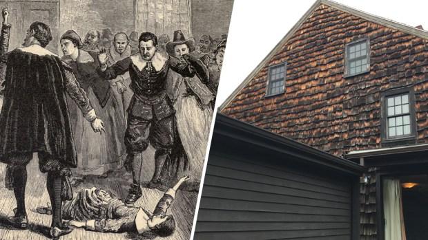 Visita la macabra casa de un condenado a muerte en la cacería de brujas de Salem