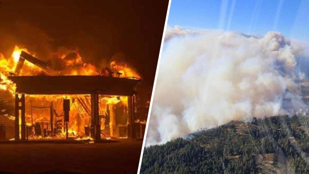 Mortal incendio destruye todo a su paso al norte de California