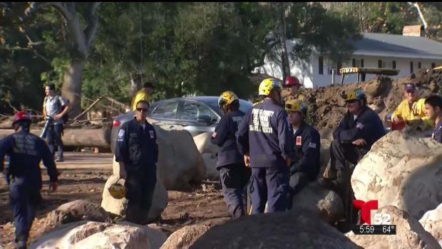 [TLMD - LA] Continúan las labores de rescates en Montecito