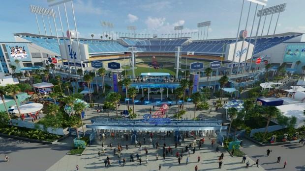 En fotos: Los Dodgers revelan renovación millonaria del estadio