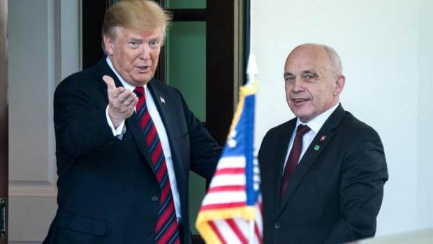 """Trump sobre posible guerra con Irán: """"Espero que no"""""""