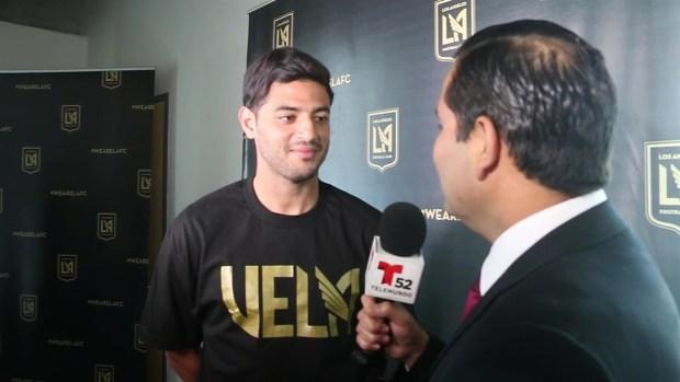 [TLMD - LA] Entrevista completa con Carlos Vela como miembro del club Los Ángeles FC