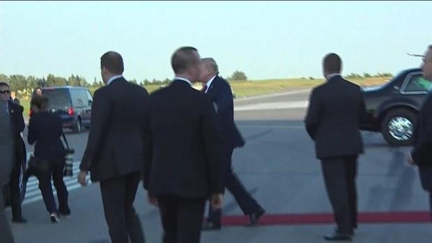 [TLMD - MIA] Ttrump llega a Finlandia para reunión con Putin