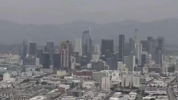 Grave problema de contaminación en Los Ángeles