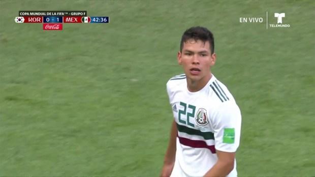 [World Cup 2018 PUBLISHED] Espectacular jugada de Hirving Lozano que merecía terminar en gol