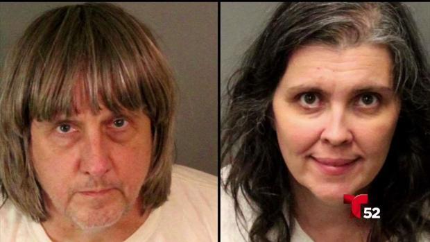 [LA] Encuentran a 13 hijos encadenados y desnutridos