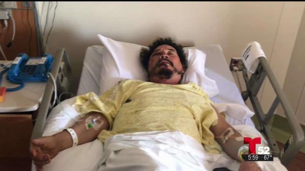 [TLMD - LA] Hospitalizado vendedor víctima de brutal ataque