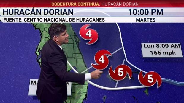 [TLMD - MIA] Huracán Dorian: ¿Se debilitará o fortalecerá tras tocar tierra en Bahamas?