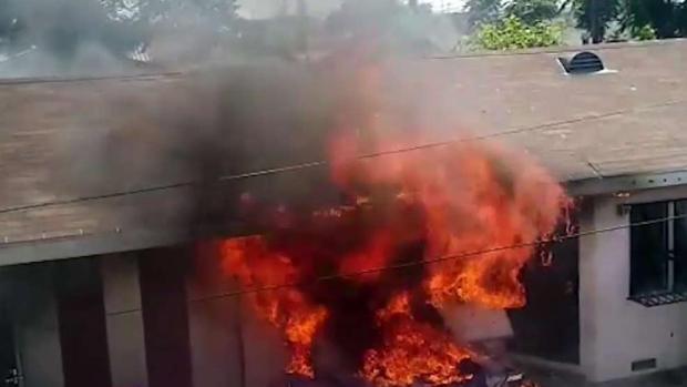 [TLMD - LA] Incendio deja a familia sin hogar y sin su depósito