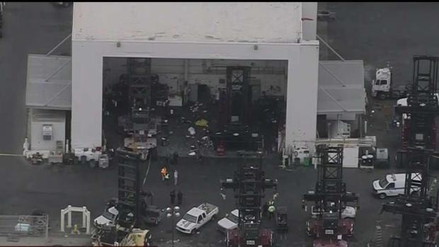 [TLMD - LA] Investigan accidente mortal en puerto de Los Ángeles