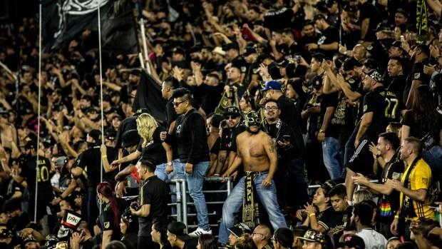 En fotos: LAFC supera al LA Galaxy en emocionante partido