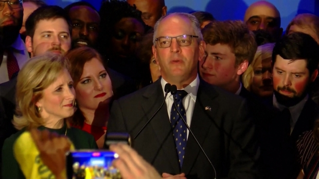 [TLMD - NAT] Demócrata es reelegido en la Gobernación de Luisiana