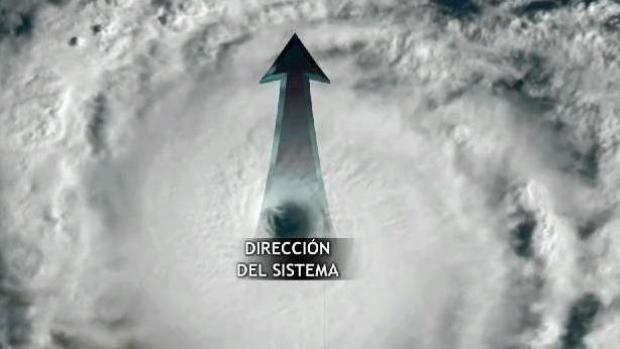 Estas son las partes de un huracán y sus efectos