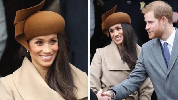 Meghan Markle acude a festejos de Navidad con la familia real