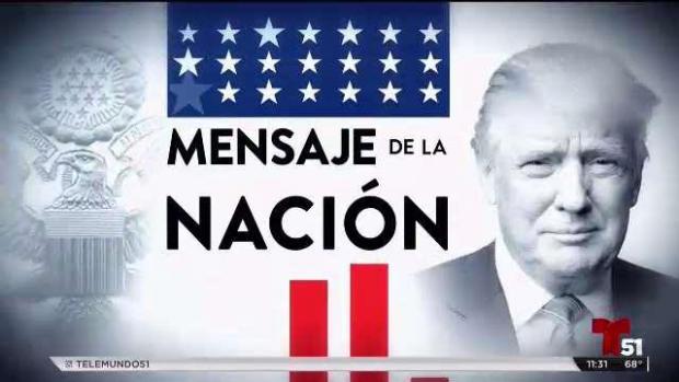 Mensaje de la nación
