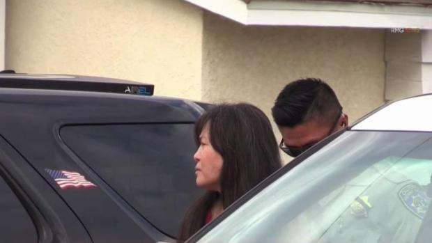 [TLMD - LA] Mujer choca con patrulla y causa persecución