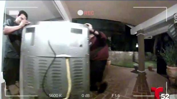 [TLMD - LA] Mujer indignada luego de que se llevaron su estufa