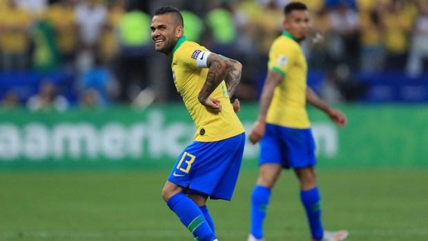 [Copa America] Magistral definición de Dani Alves ante Perú