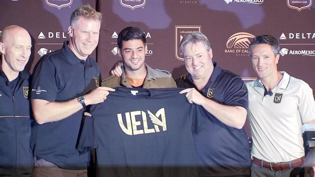 [TLMD - LA]Carlos Vela fue presentado con el LAFC