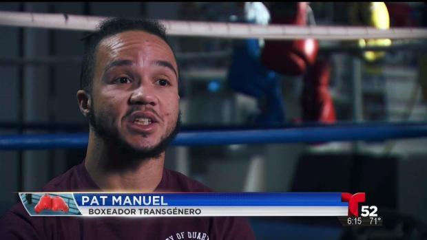 [TLMD - LA] Primer boxeador transgénero busca abrirse paso