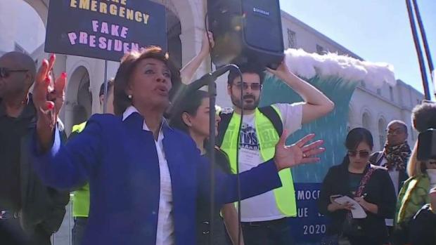 [TLMD - LA] Protestas en Los Ángeles por emergencia nacional