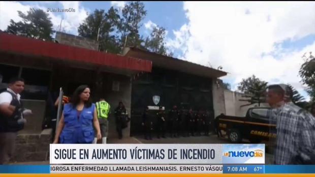 [TLMD - MIA] Sigue aumento de víctimas de incendio en Guatemala
