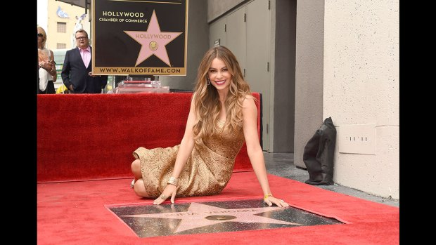 Photo: Sofia Vergara gets its star on the Hollywood Walk of Fame!