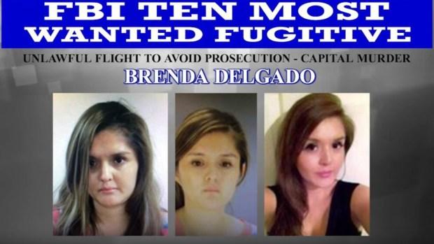 Capturan a Brenda Delgado, única mujer entre los 10 más buscados del FBI