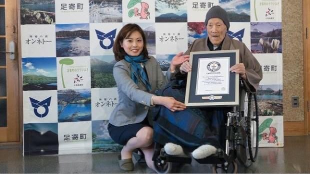 [TLMD - NATL] El secreto del último hombre más viejo del mundo, según Guinness