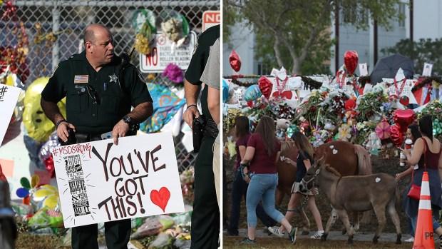 Sin mochilas ni libros, así fue el regreso a clases tras tiroteo escolar en Florida
