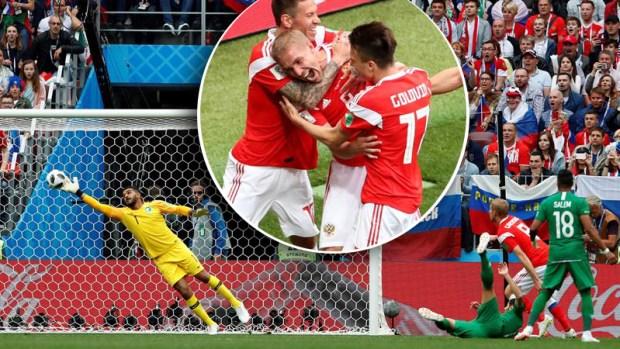 De cabeza: así se vivió el primer gol de la Copa Mundial