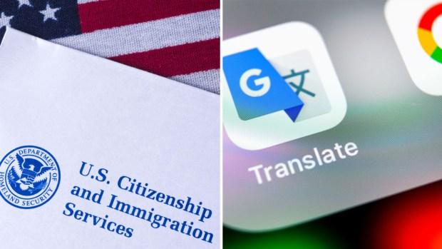 [TLMD - LV] USCIS confirma que usa Google para traducir peticiones de asilo