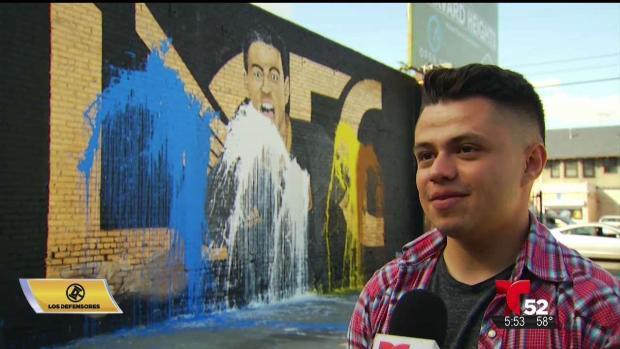 [TLMD - LA] Vandalizan mural en honor a Carlos Vela en Los Ángeles