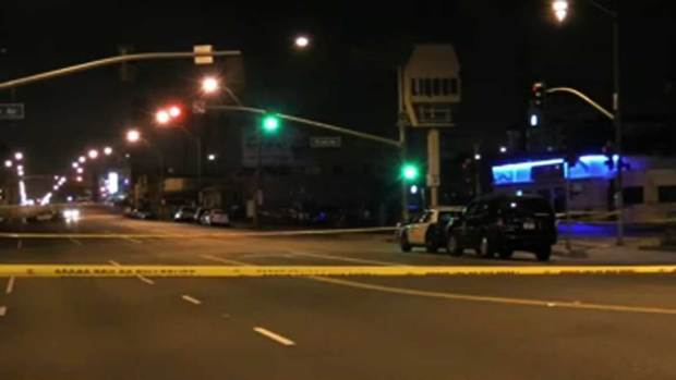 Video: Investigan muerte a balazos en Long Beach