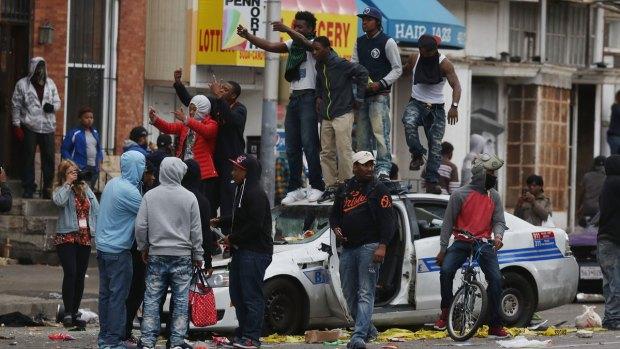 Estallido en Baltimore: las mejores fotos