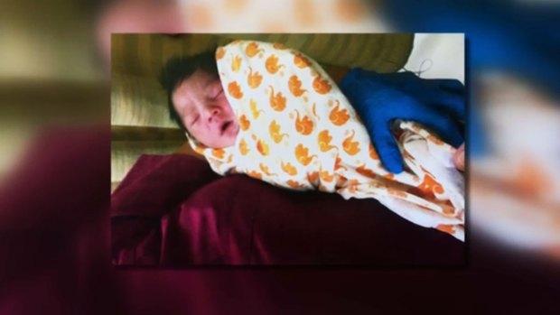 Video: Encuentran bebé abandonado en plena calle