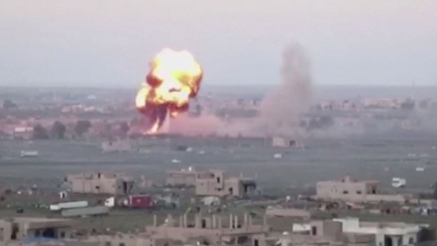En video: los bombazos contra ISIS