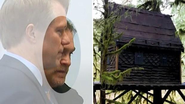 """La """"cabaña del porno"""": revelan qué había dentro"""