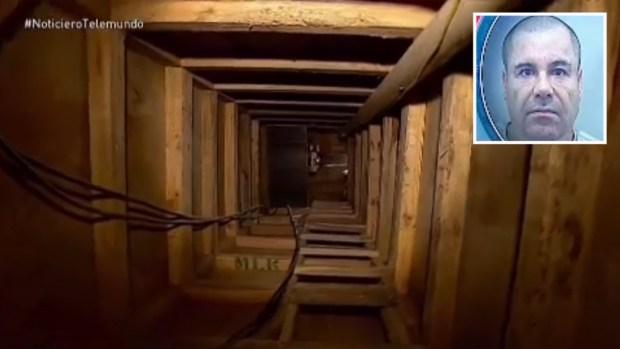 """""""El Chapo"""" y el túnel: a un año de su increíble fuga"""