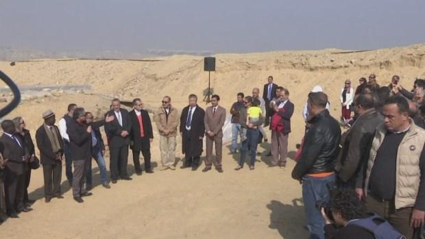 [TLMD - MIA] Hallan tumba de alta funcionaria del antiguo Egipto junto a las pirámides
