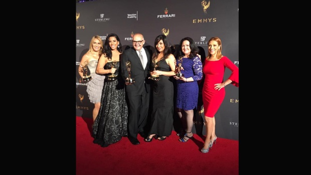 Telemundo 52 arrasa en los premios Emmy