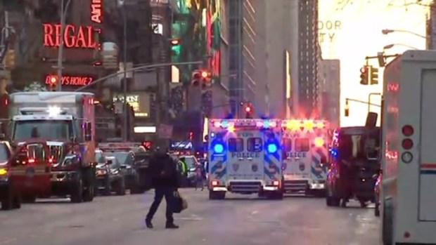 Dramática explosión en plena hora pico en Nueva York