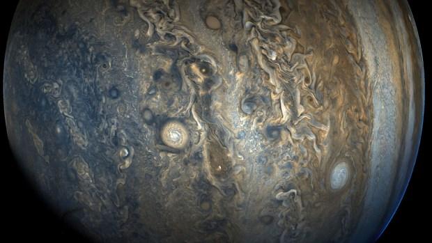 Foto semanal de la NASA: el anillo de tormentas de Júpiter