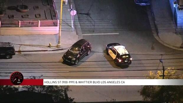 [LA] Arrestan a mujer que protagonizó persecución