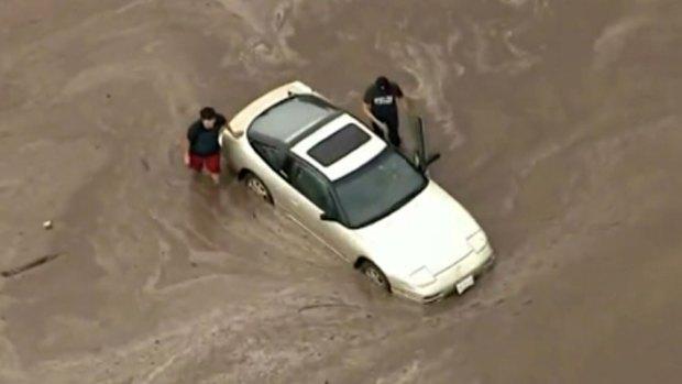 Video: Gran operativo para combatir daños tras lluvias