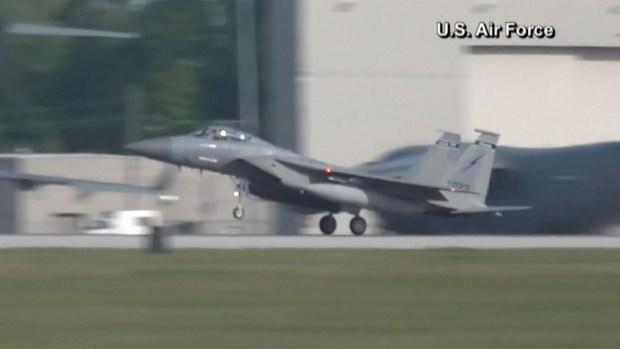 [TLMD - NATL] EEUU mueve su flota de aviones de combate por el huracán Dorian