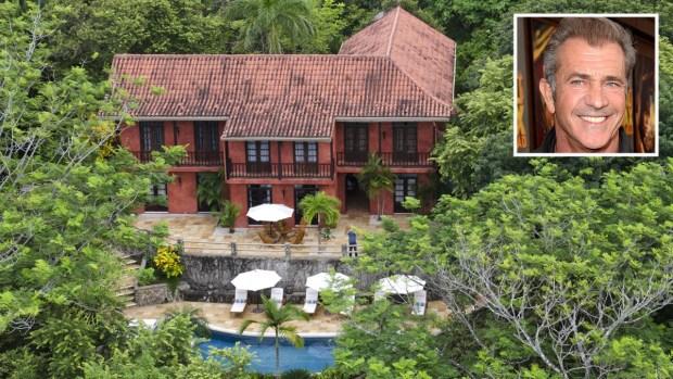 Por dentro: la megamansión de Mel Gibson en la selva de Costa Rica
