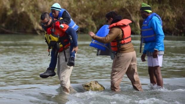 Crisis migratoria: México vigila río Bravo para frenar cruces